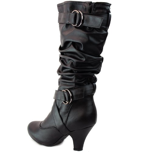 s lala 02 buckle straps low heel casual trendy