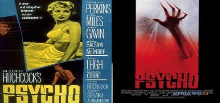 poster Psyco 1960 Film Horor terseram terbaik menakutkan sepanjang masa