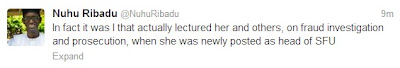 Nuhu Ribadu Hits Back at Farida Waziri Calls her a Liar.