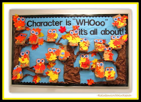 Character OWL Bulletin Board via RainbowsWithinReach