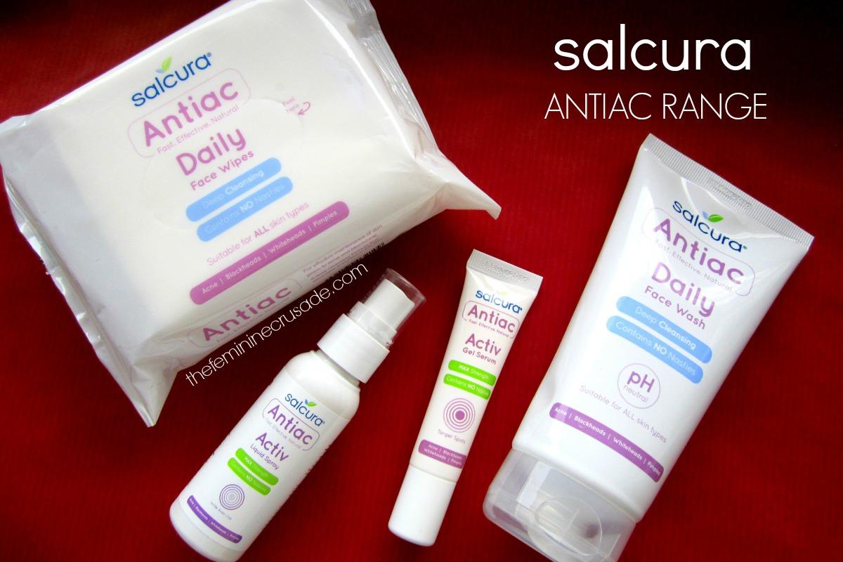 Salcura Antiac Range