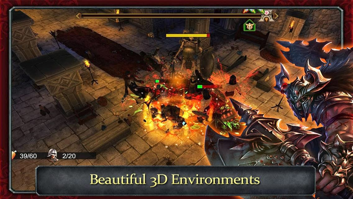 Demonrock: War of Ages v1.05 (Mod Money) APK+DATA