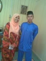 with my brother :)