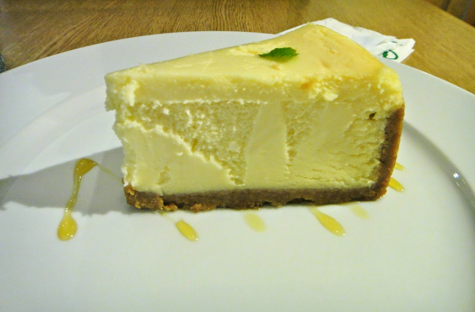 Lemon cheesecake Maryjane Pizza Gongguan Taipei