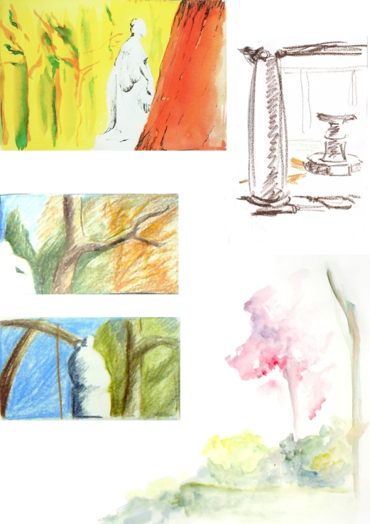 manu lafay croquis decors couleur