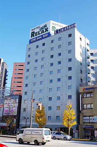 Relax Hotel, Hotels Near Toyama Station.