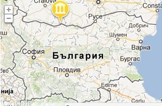 Карта на Улпия Ескус