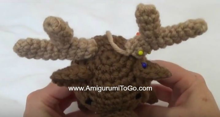 Wee Moose and His Girlfriend ~ Amigurumi To Go