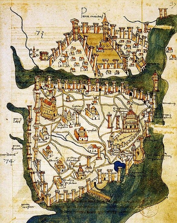 Constantinople Maps