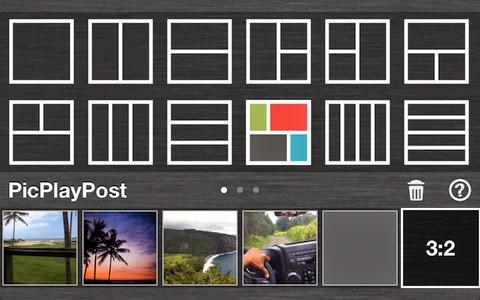 تطبيق PicPlayPost لدمج الصور والفيديو