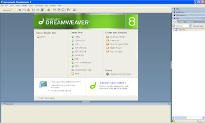 دريمويفر 8 ماكروميديا Macromedia Dreamweaver 8