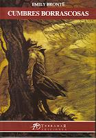Portada del libro Cumbres borrascosas de Emily Brontë