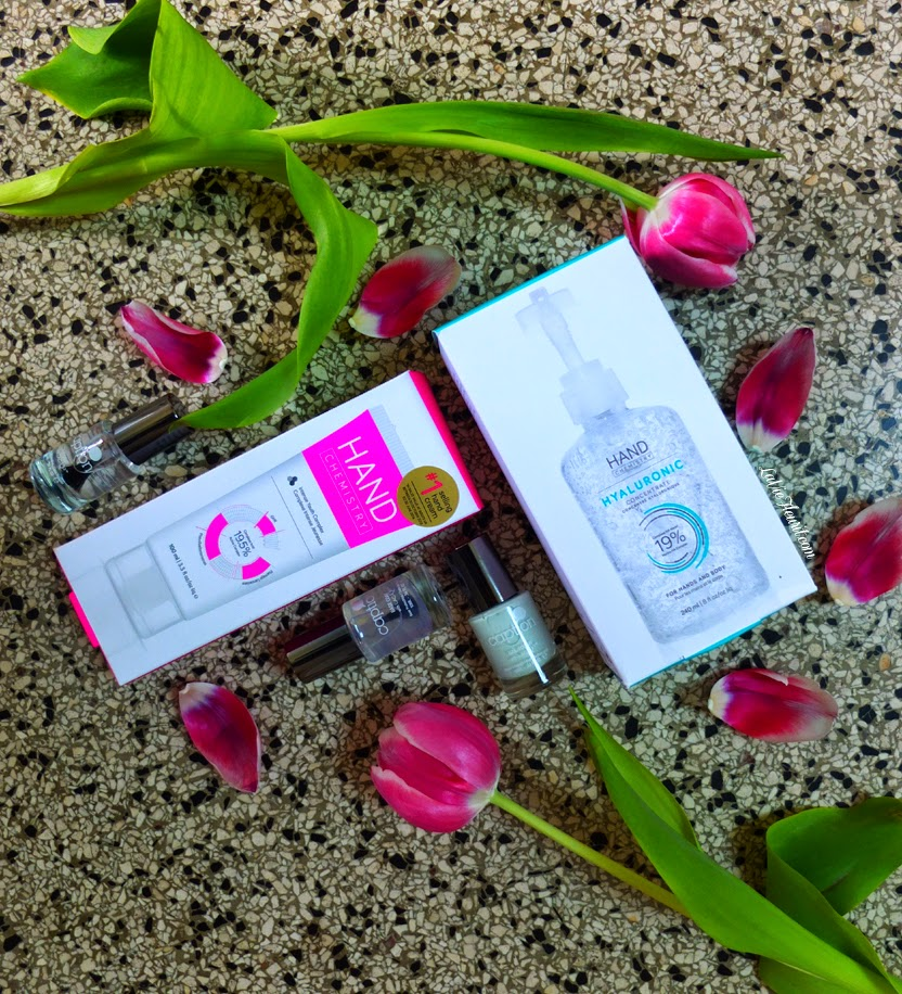 Bblogger, Beautyblogger, Beauty, Blog, MakeUp, Make-up, Hands, Nails, Nailpolish, Treatment, Hand Cream, Gelnails, Review, Hand Chemistry, Caption, Fleur Feijen, LaVieFleurit.com,