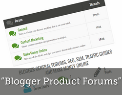 How to Create A Forum Page in Blogger Blogs Easily