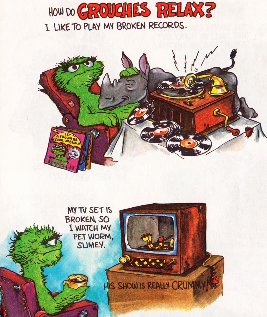 Vintage Kids Books My Kid Loves How To Be A Grouch