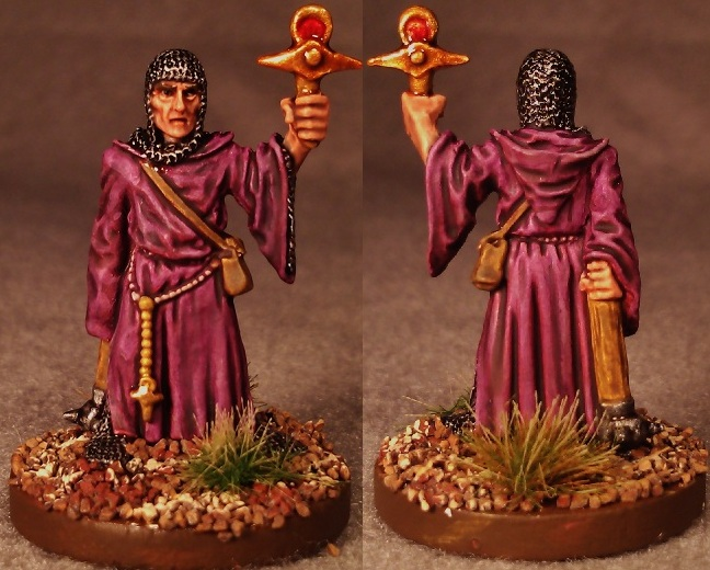 Kimble True-Bold, High Cleric of A&#39;Ruhn