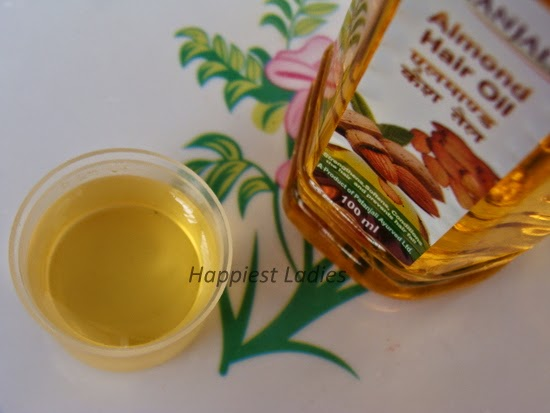 Patanjali Hair oil almond