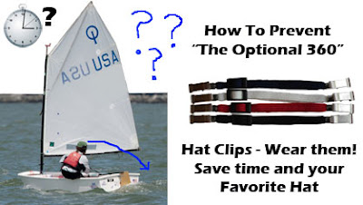 Annapolis Performance Sailing APS Hat Clips for Optimist Dinghy Sailors