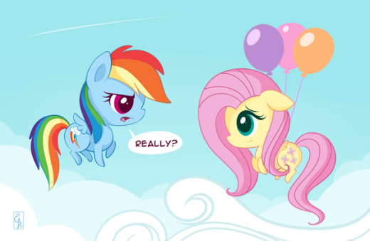 Oh Fluttershy​ ...Really?