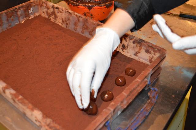 Handmade truffles