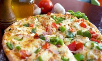 Buy 1 Veg / Non-Veg Pizza at Pizza Republic At just Rs.49