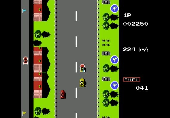 Road Fighter Game for PC by Konami