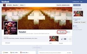 MetalArt en Facebook
