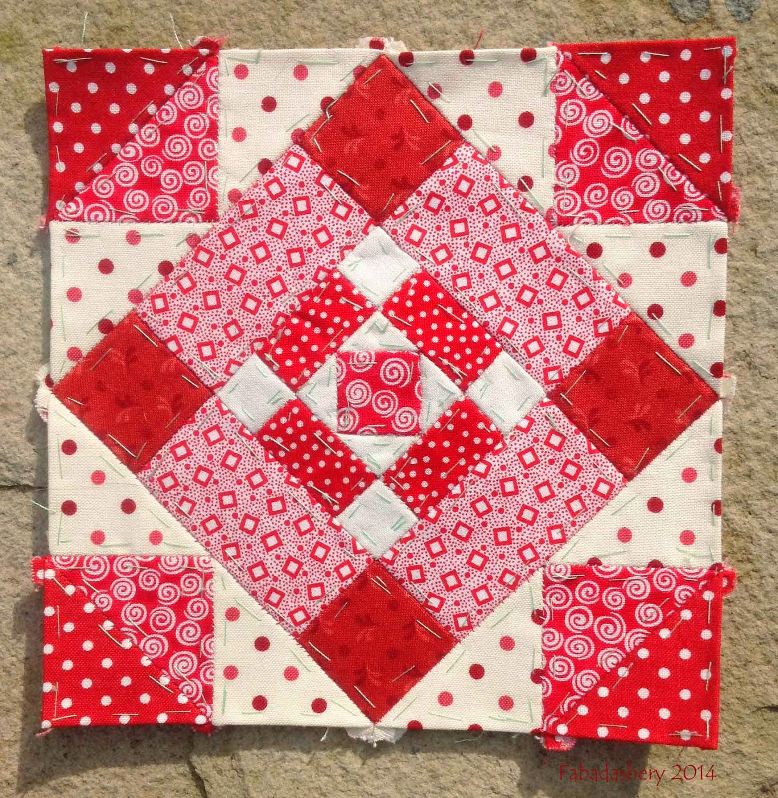 Nearly Insane Quilt , Block 5