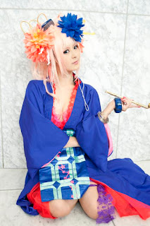 Macross Frontier Sheryl Nome Cosplay by Sui