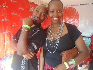SEIF KABELELE WITH BRAND MANAGER WA REDD'S 'VICTORIA KIMA