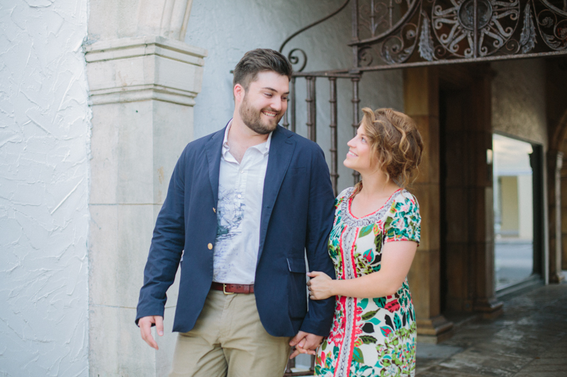 worth avenue engagement photo