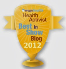 2012 Finalist: Best in Show Blog Wego Health Health Activist Awards