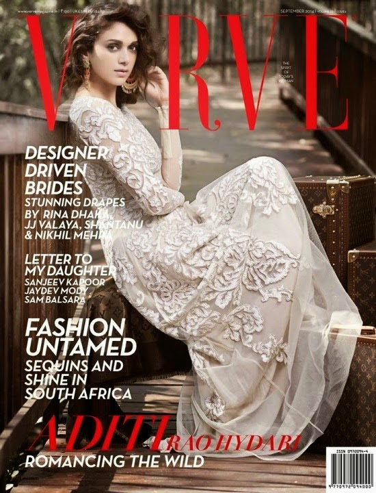 Aditi Rao Hydari Hot on Verve Cover Page