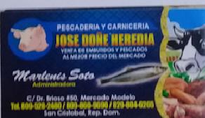 Carnicería y pescaderia Josè Doñe Heredia
