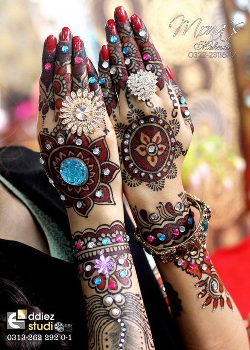 Mehndi Designs Colour : Mehndi designs for hands indian bridal