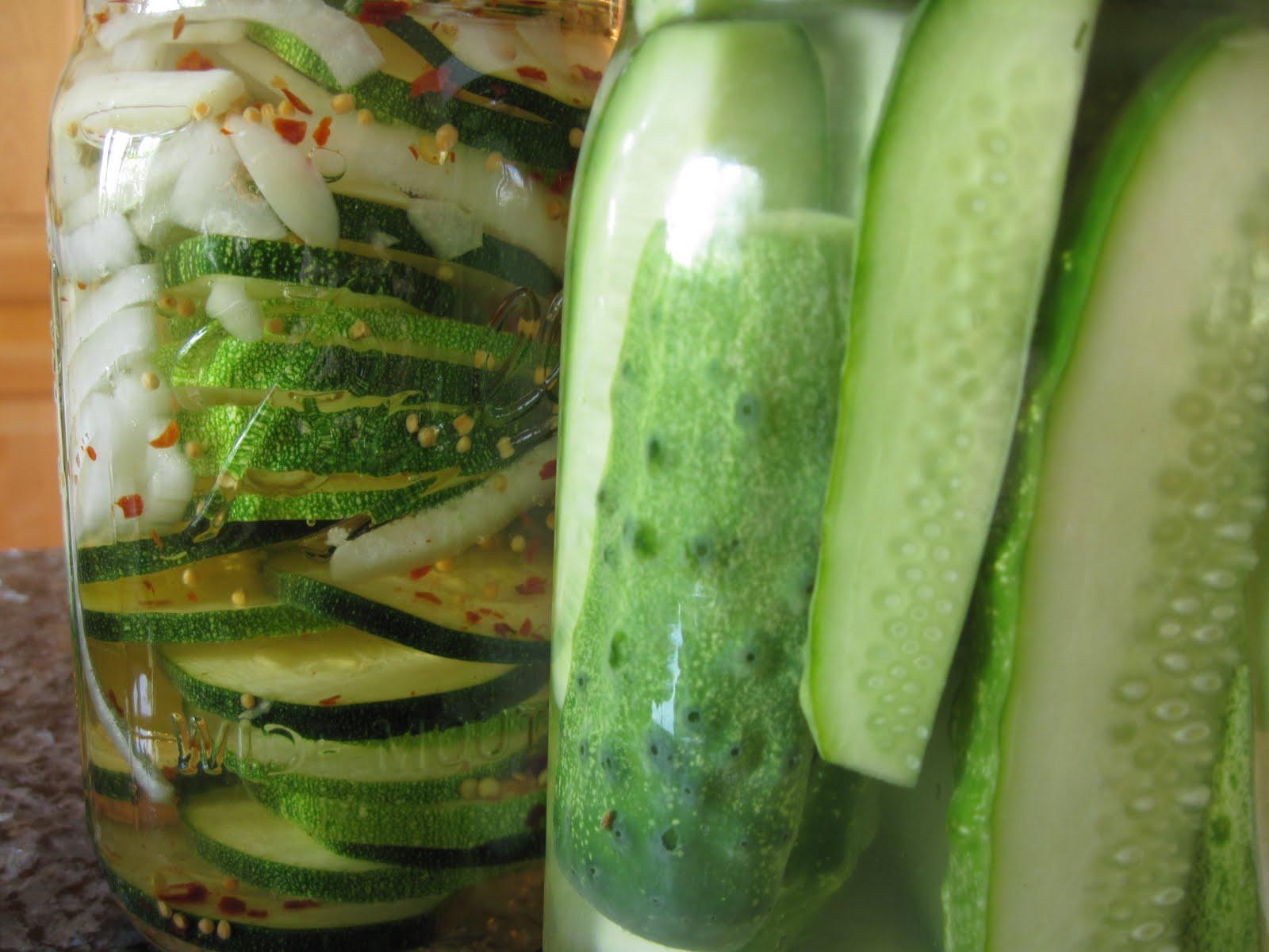 Pickles Three Recipes Yankee Kitchen Ninja
