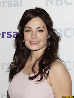 Erica Durance NBC Universal summer press day in Pasadena