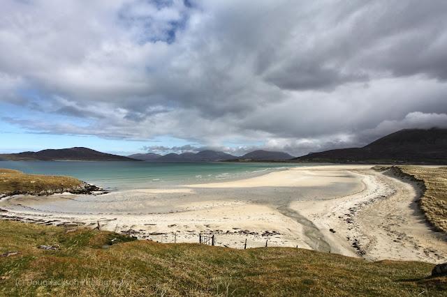 white beaches on Harris