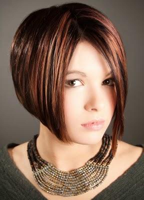 model rambut bob nungging pendek wanita