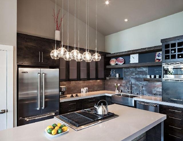 modern kitchen lighting ideas  ayanahouse,Modern Kitchen Lighting Ideas,Kitchen ideas