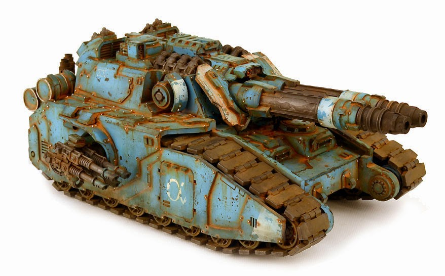 Alpha Legion Falchion Super Heavy Tank Destroyer