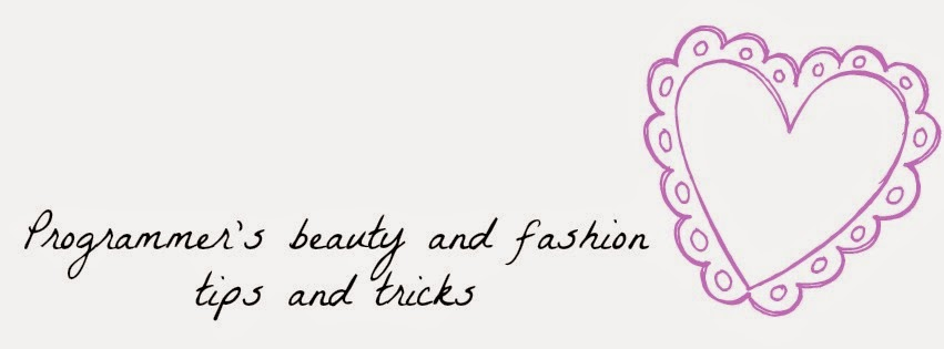 Programmer's beauty and fashion tips and tricks