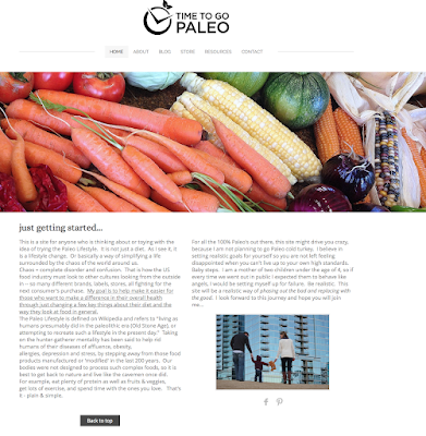 Time To Go Paleo Healthy Online
