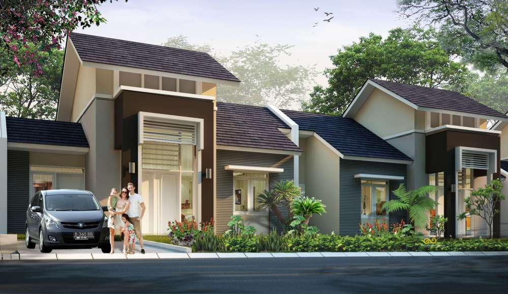 cluster bukit heliconia bougenville perumahan citra indah