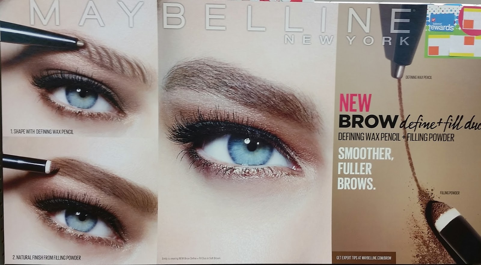 New Maybelline Brow Define Fill Duo At Walgreens The Budget