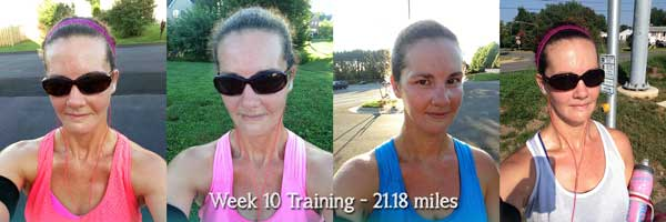 Week 10 Training Recap