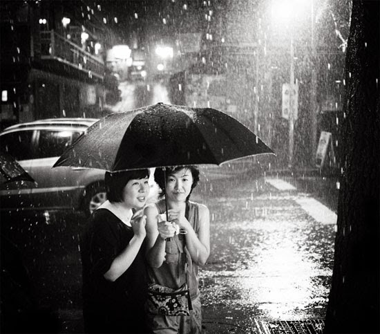 Together in rain