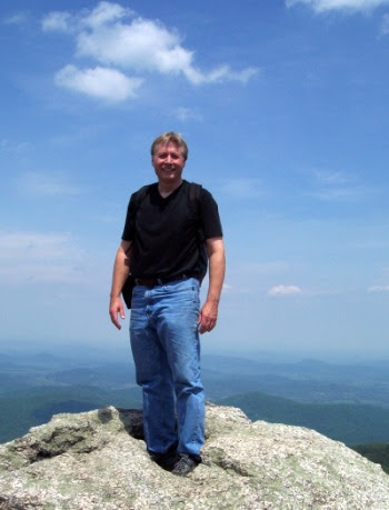 Yeah, that's me on Old Rag Mountain - May 2004