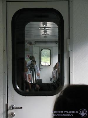 Казанская детская железная дорога, последний вагон