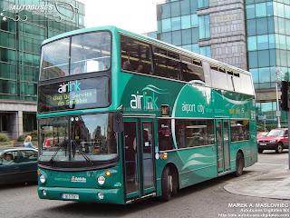 Dublin city buses
